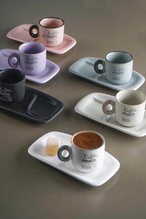 ACAR Carleen 6lı Seramik Kahve Fincan Takımı