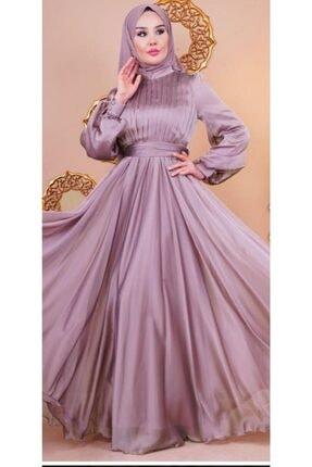 Loreen Kadın Pudra Şifon Elbise