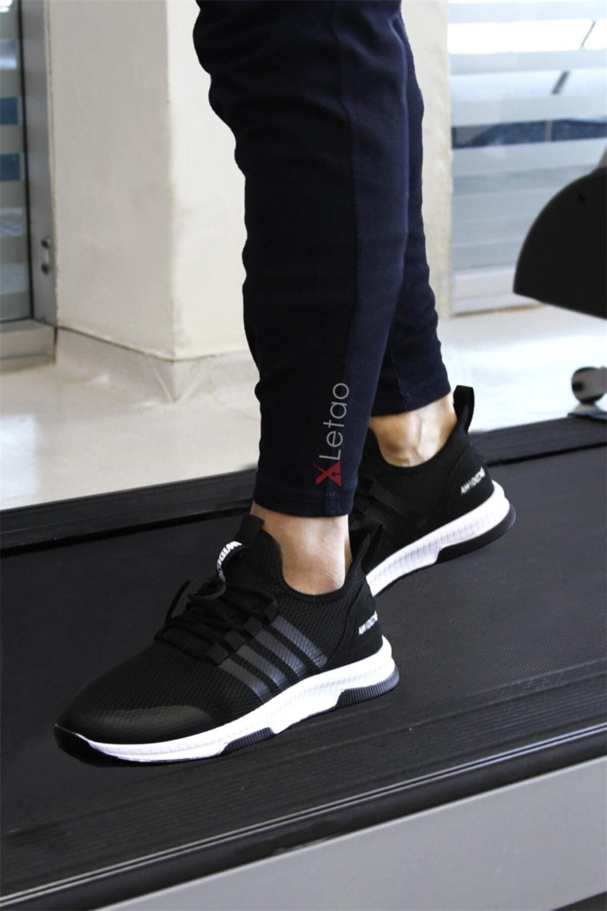 LETAO Unisex Hafif Günlük Spor Yürüyüş Sneaker Ayakkabı 2