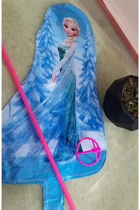 Frozen Çubuklu Elsa Folyo Balon