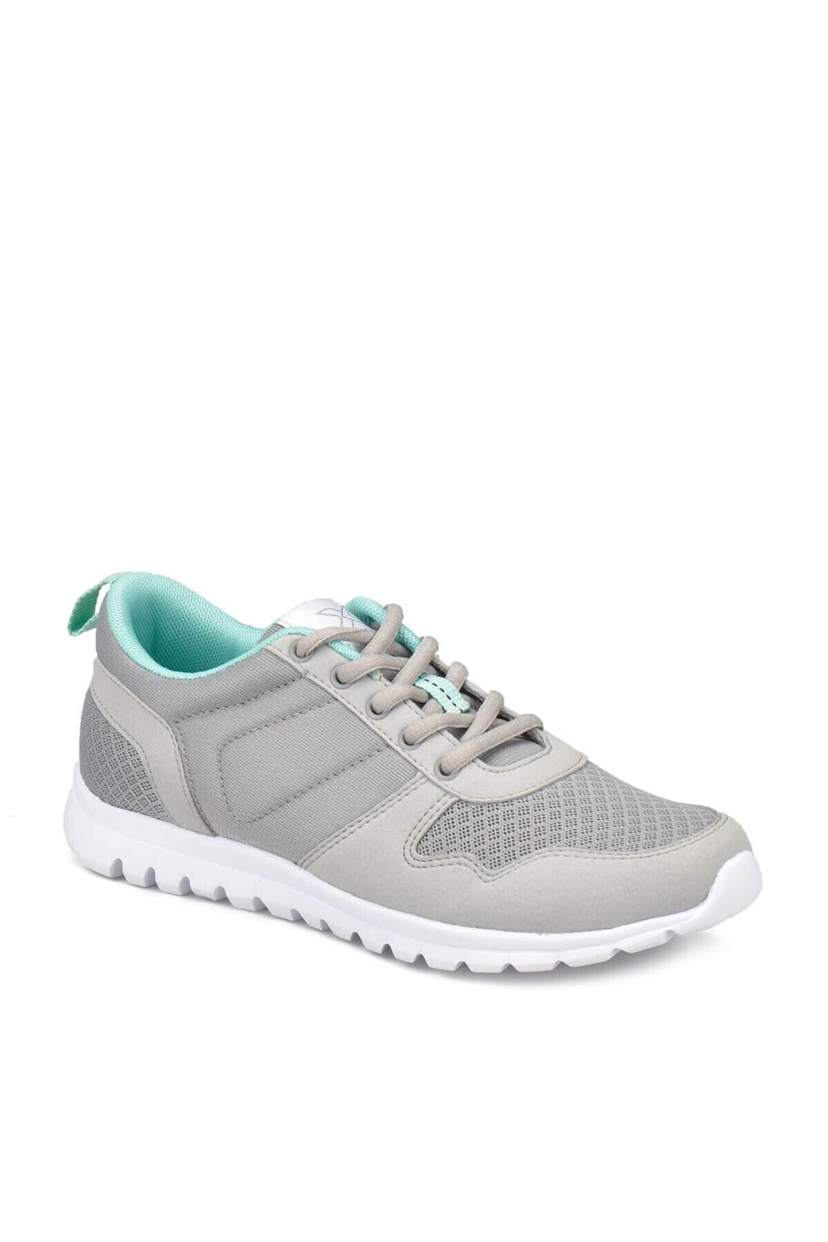 Kinetix Kadın Gri Günlük Spor Ayakkabı 1