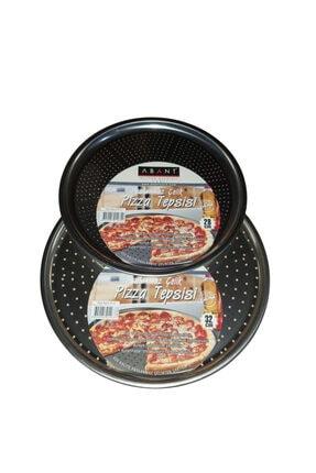 Abant Çelik Pizza Tepsisi 2'li