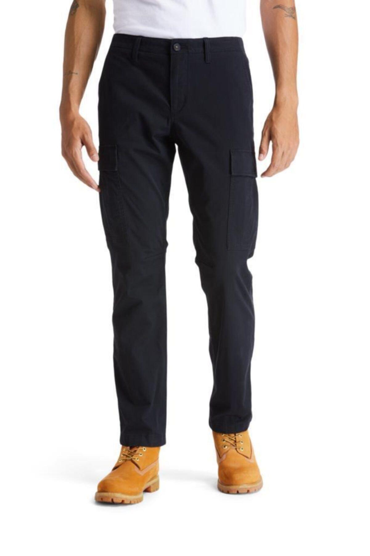 Timberland Core Twill Cargo Erkek Pantolon Siyah 1