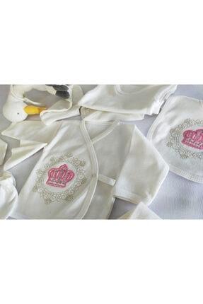 Bombinoo Yeni Doğan Kız Bebek 11'li Hastane Çıkış Zıbın Takımı