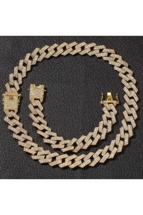 34528 Chain Gold Prong Chain Seti