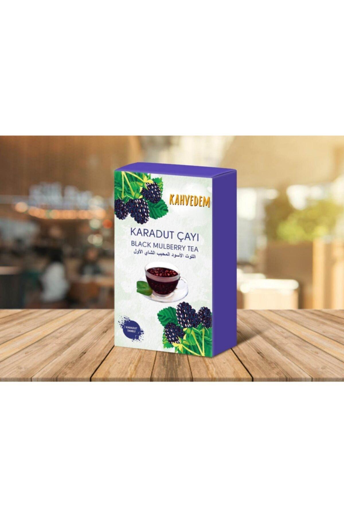 Kahvedem Yenilebilir Doğal Meyve Taneli Karadut Çayı 250 gr 1