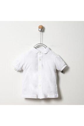Panço Beyaz Erkek Çocuk Gömlek