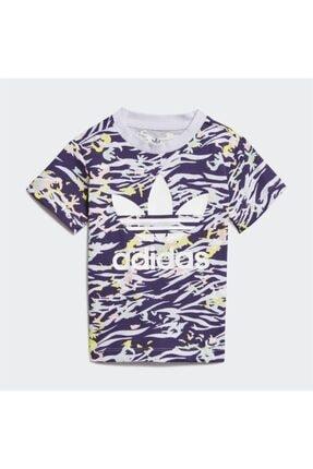 adidas Kız Çocuk Mor Tshirt