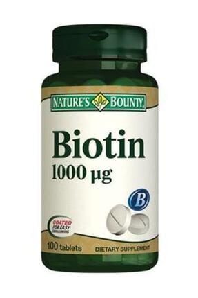 Nature's Bounty Biotin 1000 Mg 100 Tablet