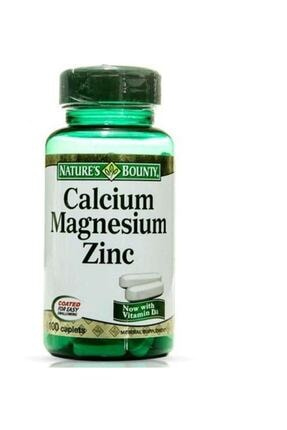 Nature's Bounty Calcium Magnesium Zinc 100 Tablet