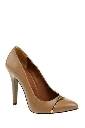 Pierre Cardin Kadın Vizon Topuklu Ayakkabı