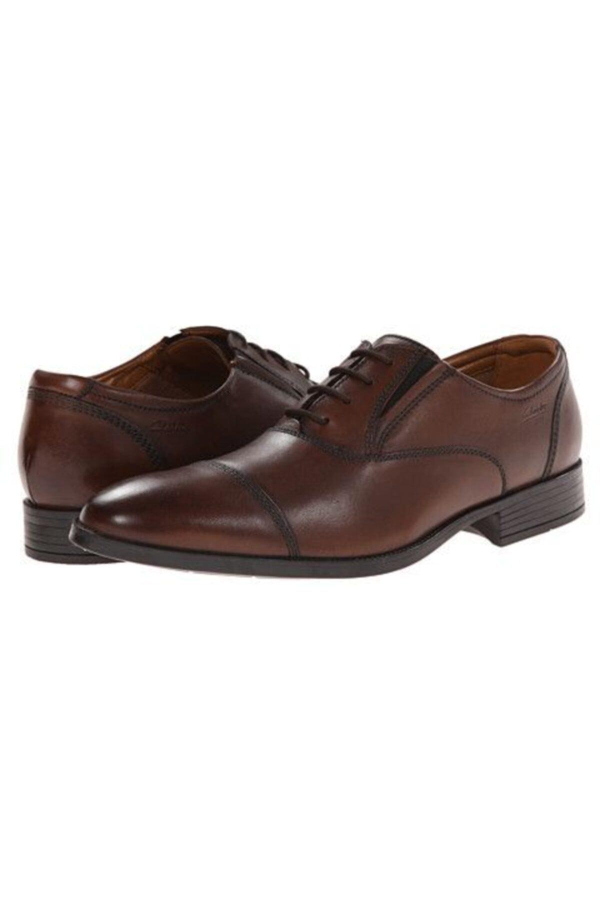CLARKS Erkek Ayakkabı Bağcıklı Şık Ve Rahat Kalden Cap 1