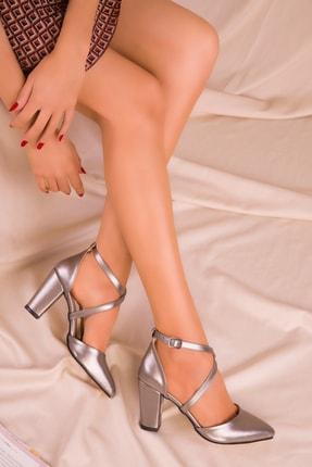 SOHO Bronz Kadın Klasik Topuklu Ayakkabı 14391