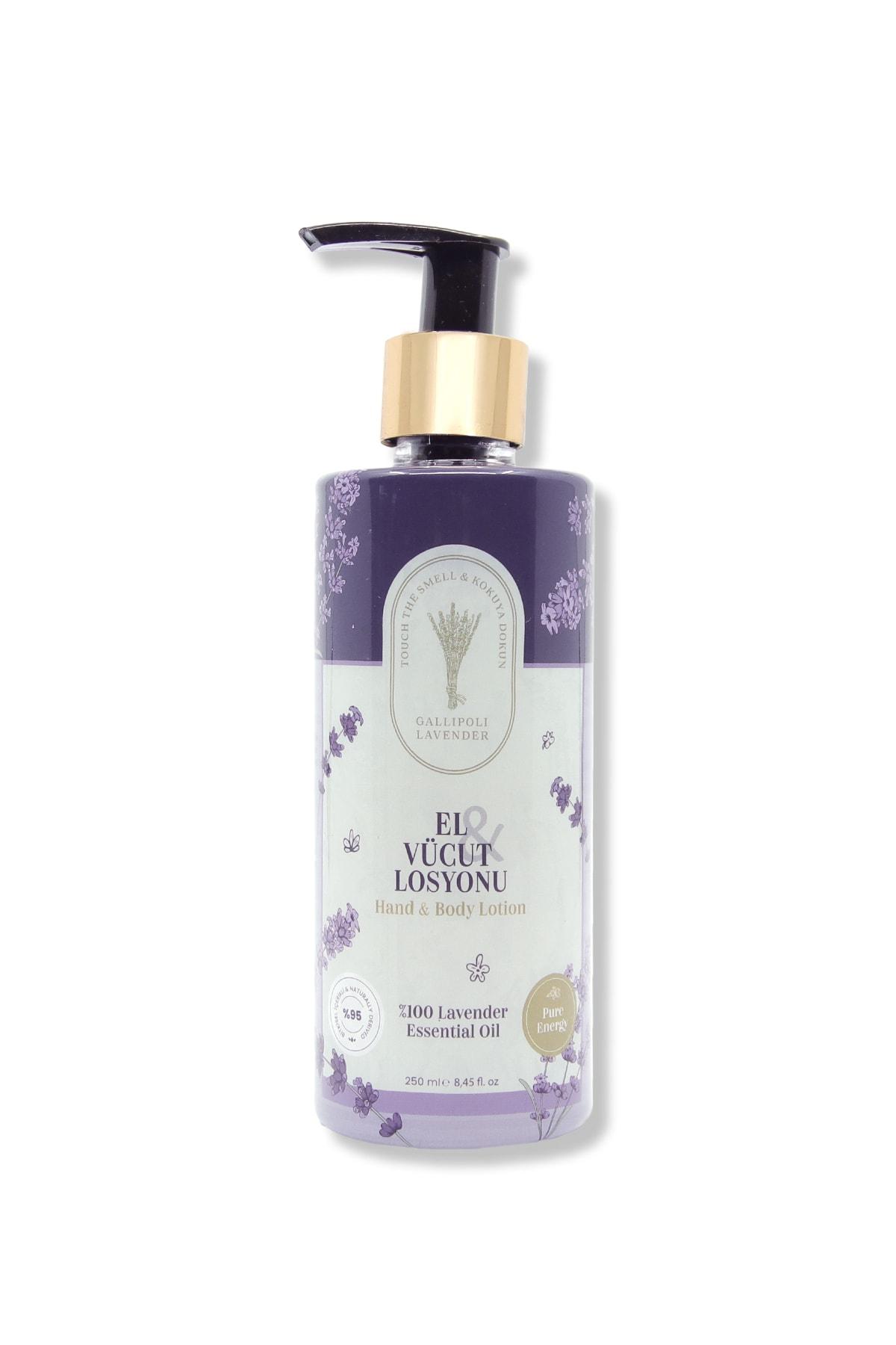 Gallipoli Lavender Lavanta Yağlı El Ve Vücut Losyonu 250 ml Nemlendirici Krem 1