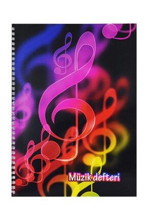 KESKİN COLOR Spiralli A4 Müzik Defteri 40 Yaprak 290300-99