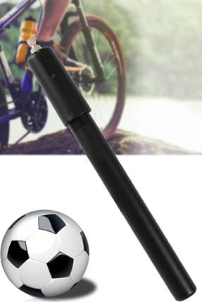 Mobee Real Özs-1112 Lastik Pompası El Pompası Bisiklet Motosiklet Top Pompası 1410 Siyah