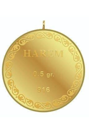 Harem Altın 0.5 gr 22 Ayar Harem Külçe Altın