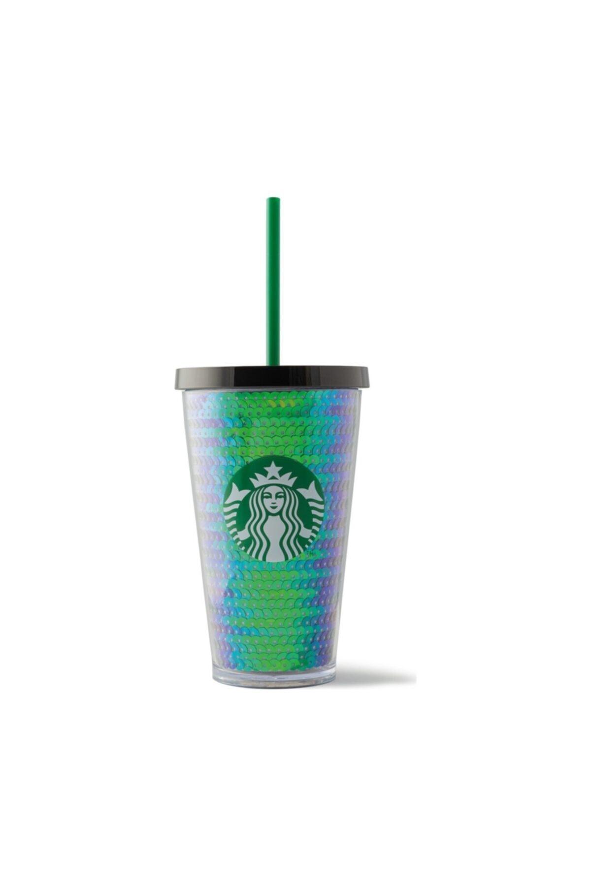 Starbucks Siyah Pullu Soğuk Içecek Bardağı 473 ml 1