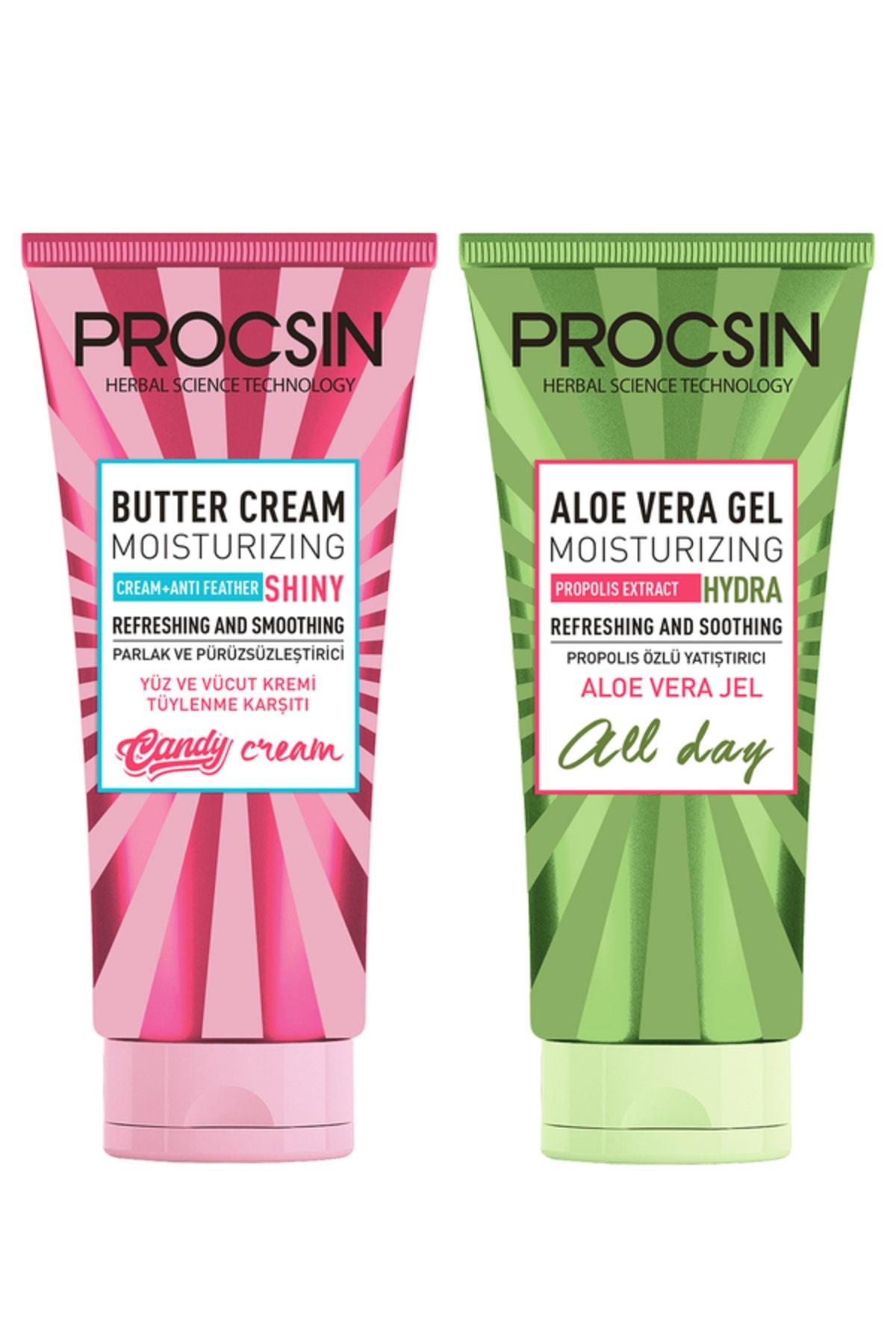 Procsin Aloevera Jel ve Butter Krem Paketi 8682427005497