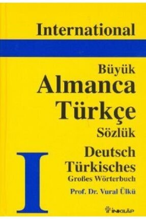 İnkılap Kitabevi İnternational Büyük Almanca Türkçe Sözlük