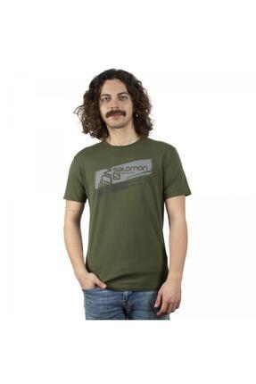 Salomon Erkek Yeşil Ss Tee Tshirt S20mghulam