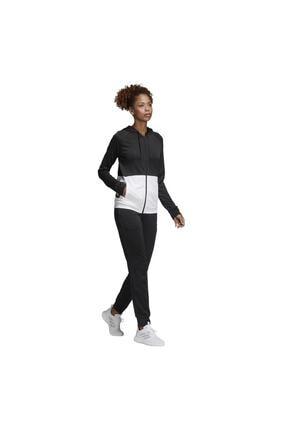 adidas WTS LIN FT HOOD Siyah Kadın Eşofman 101117619