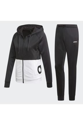 adidas Kadın Siyah Eşofman Takımı Wts Lin Ft Hood Dv2425