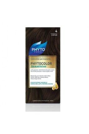 Phyto Kestane Color Sensitive Saç Boyası 4