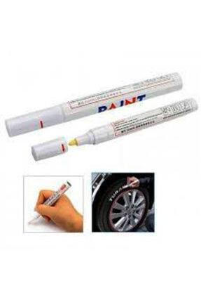 Çetin Paint Lastik Boyama Yazma Kalemi Beyaz