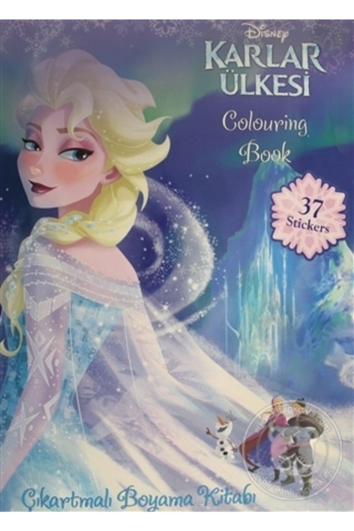 Doğan Egmont Yayıncılık Frozen Coloring Book Çıkartmalı Boyama Kitabı 37 Stickers 1