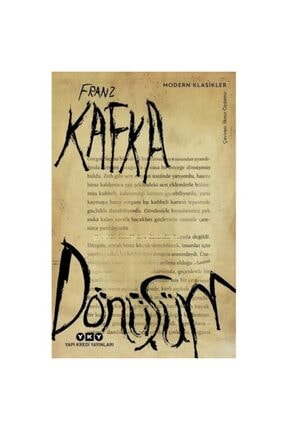 Yapı Kredi Yayınları Dönüşüm Franz Kafka