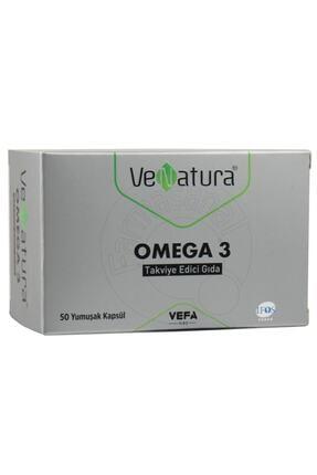 VeNatura Omega 3 50 Yumuşak Kapsül