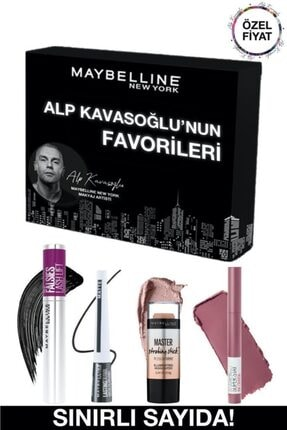 Maybelline New York Alp Kavasoğlu'nun Favorileri