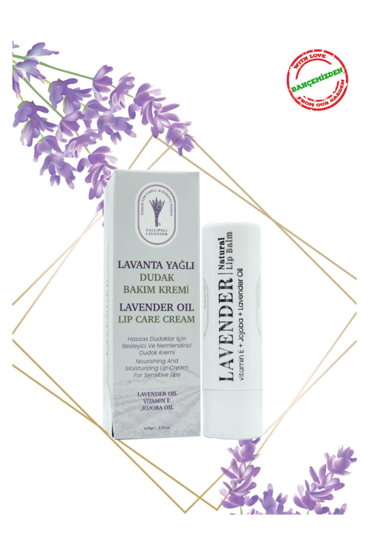 Gallipoli Lavender Lavanta Yağlı Dudak Bakım Kremi Kuru Ve Çatlamış Dudaklar Için Dudak Balm Yoğun Bakım Nemlendirici 1