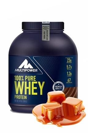 Multipower Whey Protein Kahve Karamel Aroma 2000 Gr Protein Tozu Bcaa Glutamin Arjinin Enerji Güç