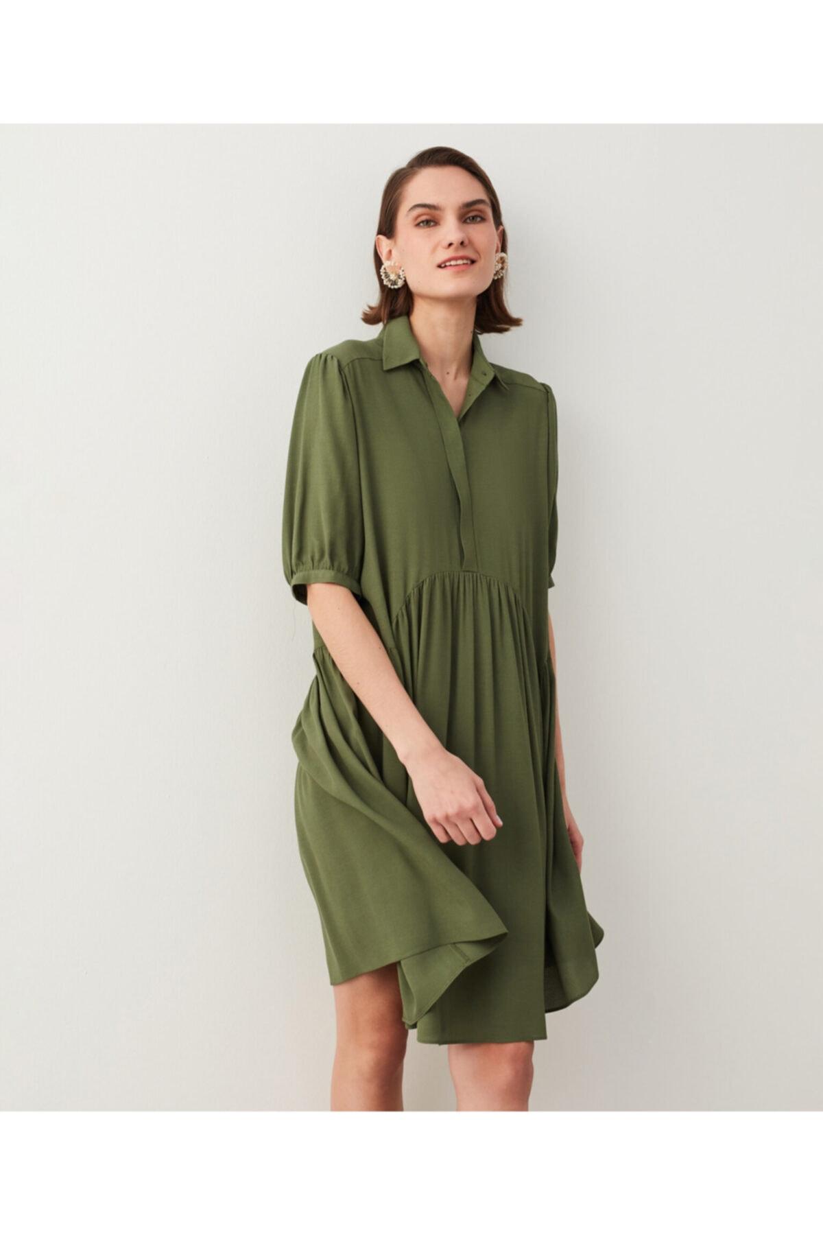 İpekyol Trapez Elbise 2
