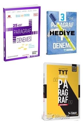 Üç Dört Beş Yayıncılık 25 Paragraf Denemesi+ Sınav Paragraf Sb Set (paragraf Deneme Ve Fosforlu Kalem Hediye)