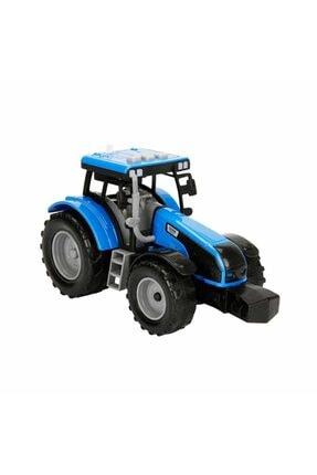 Maxx Wheels Sesli Ve Işıklı Traktör 18 Cm. - Mavi
