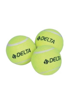 Delta Sarı 3 Adet Tenis Topu
