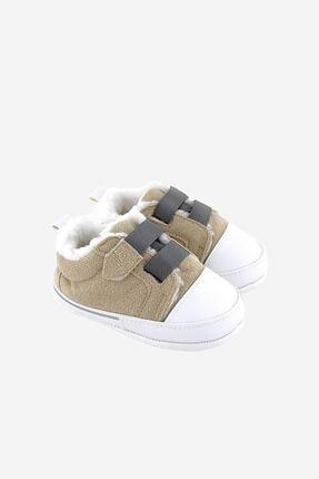 Funny Baby Cırtlı Kürklü Süet Ilk Adım Ayakkabı