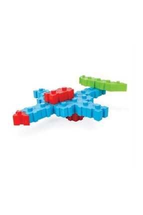 PİLSAN Pilsan 100 Parça Akıllı Bloklar