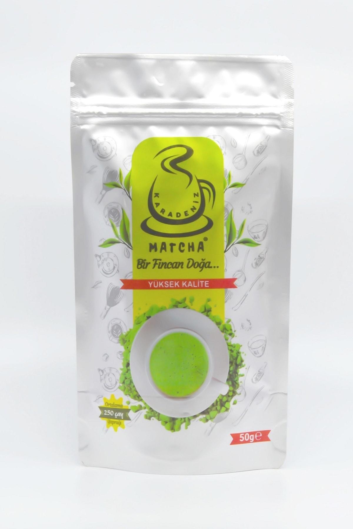 Karadeniz Matcha Yüksek Kalite 50 Gram (%100 Saf Matcha Çayı ) 2