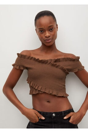 MANGO Woman Kadın Bluz