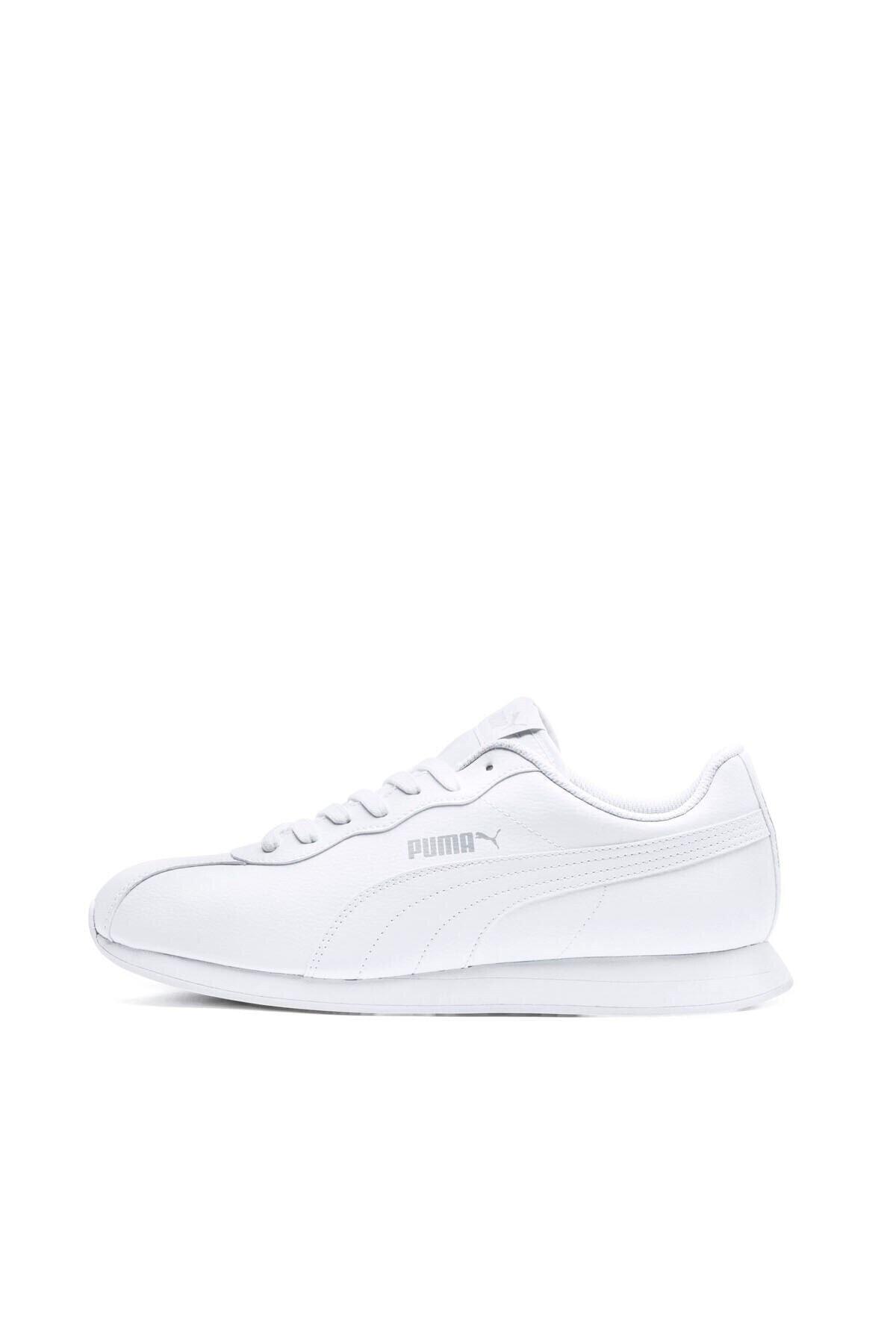 Puma TURIN II Beyaz Erkek Sneaker Ayakkabı 100352193 2