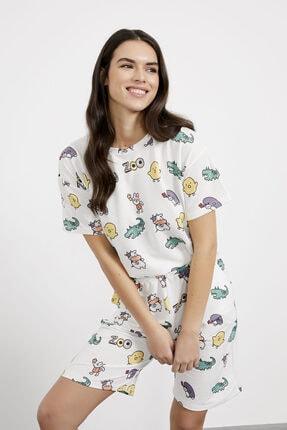 Arma Life Zoo Baskılı Şort T-shirt Takım