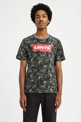 Levi's Erkek Kamuflaj Baskılı T Shirt 22489-0246
