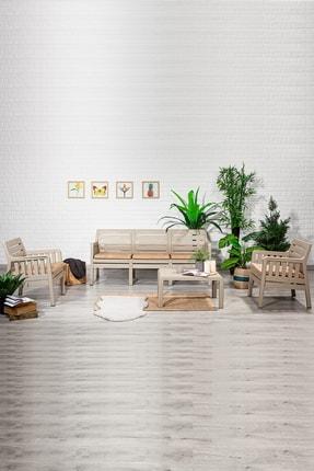 SANDALİE Lara 3 1 1 S Balkon&teras Bahçe Mobilyası / Cappucino