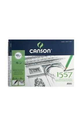 Canson 1557 Desen Çizim Blok 35x50cm 120gr 15 Yaprak