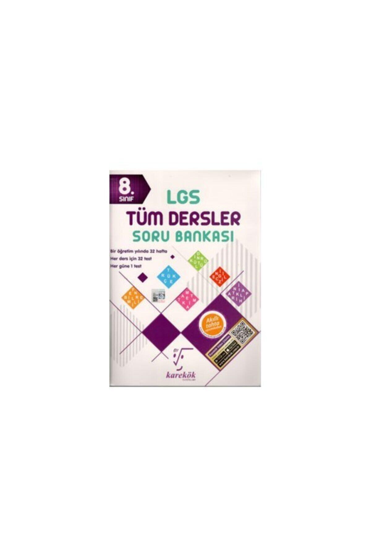 Karekök Yayınları 8. Sınıf Lgs Tüm Dersler Soru Bankası 1