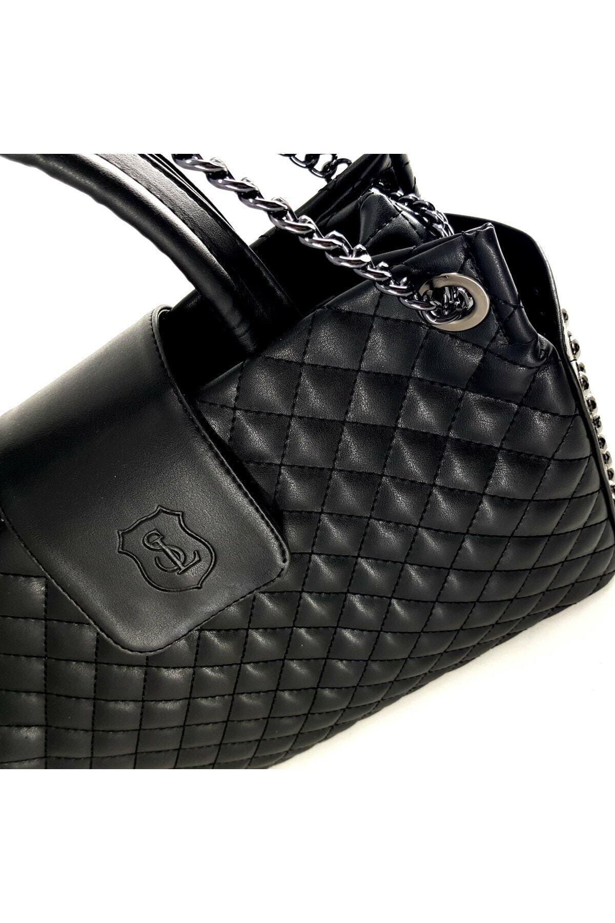 Ladystyle Kadın Siyah Omuz Çanta 2